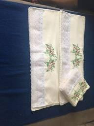 Kit toalha personalizada