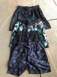 Shorts/Bermudas infantis