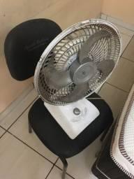 Ventilador e cadeira