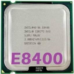 Título do anúncio: Processador Intel Core 2 Duo E8400 3.0ghz Fsb 1333 Lga 775 - 400