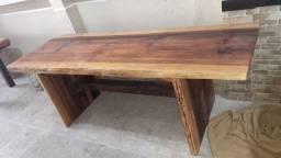 Valor de 600 a 2500 Vendo mesas rústicas madeira de lei peça única sem emendas