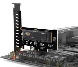 Adaptador NVMe para PCI Express