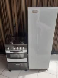 Kit geladeira e fogão ESMALTEC