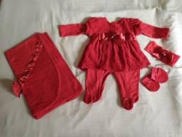 Saída maternidade e roupas ...