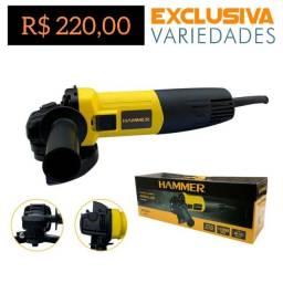 Esmerilhadeira Angular 900W Hammer + Entrega Grátis