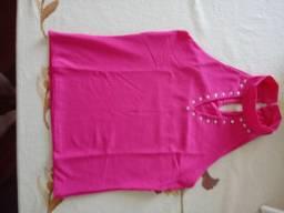 Blusinhas: Pink e Gatinha P