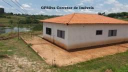 Chácara 20.000 m2 Escritura casa ampla, água, lúz, lago Ref. 428 Silva Corretor