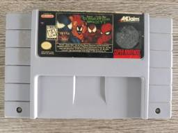 Spider Man e Venom Separation Anxiety 100% Original Snes