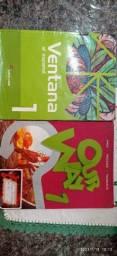 Livros de Inglês e Espanhol 6 ano
