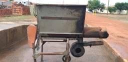 Maquina Alimentadora de forno de Cerâmica com bagaço e cavaco