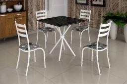 Título do anúncio: Mesa 4 Cadeiras Ipanema - Frete Grátis