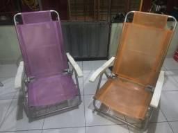 Cadeiras Praia