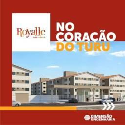 Título do anúncio: P*/ Royalle Residence no Turu na Av. General Arthur Carvalho