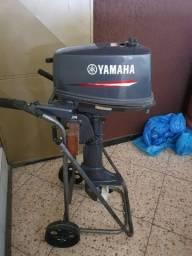 Motor Yamaha 4HP - 2T - NOVO