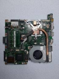 Kit Placa Mãe Notebook Positivo Unique + 4GB de RAM DDR3