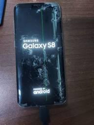 Samsung S8  para retirada de pecas