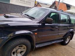 Vendo ou troco Pajero diesel 2.8 blindada