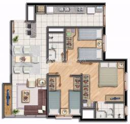 Apartamento à venda com 3 dormitórios em Partenon, Porto alegre cod:286607