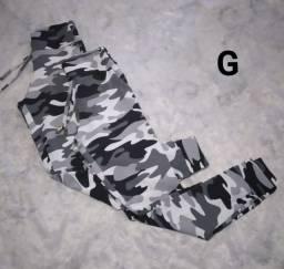 Calça camuflada M/G