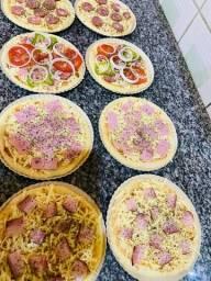 Pizzas pré assada