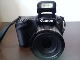 Camera Semi Profissional Canon Sx410is 20.0 Mp Zoom 40x