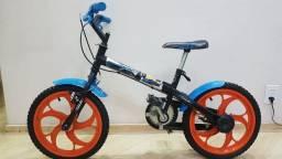Bicicleta Caloi Hot Weels Preta - aro 16