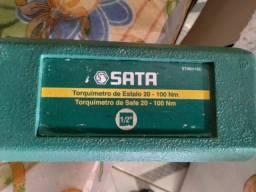 Torquimetro  de estalo SATA 20-100 NM