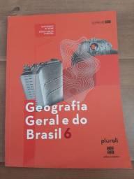 Livro Geografia Geral do Brasil 6° ano Plurall