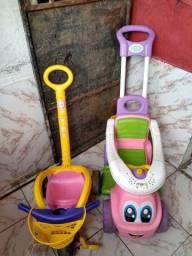 Triciclo infantil + motinha