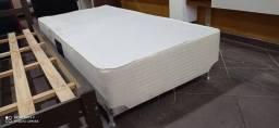 Base Box Solteiro Branca