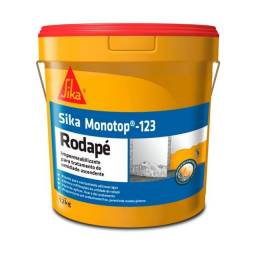 Argamassa Polimerica Monotop 123 Rodape Balde 12 Kg - Sika