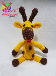 Amigurumi Girafa Divertida