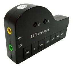 Placa De Audio Hifi Magic Voice 8.1ch