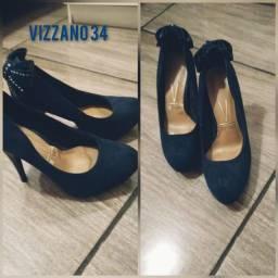 Sapatos 34 conservados