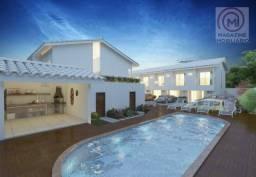 Studio com 1 dormitório à venda, 38 m² por R$ 183.000,00 - Coroa Vermelha - Santa Cruz Cab