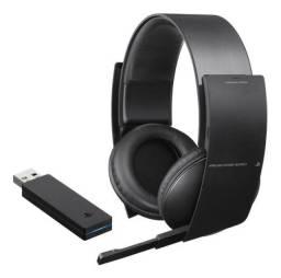 Headset Sony Pulse Elite 7.1 Sem Fio - Playstation 3 PS3
