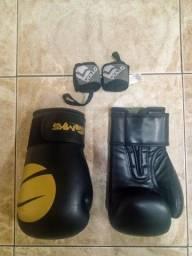 Luva de boxe + Bandagem elástica