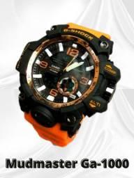 G-shock mudmaster ga-1000 amarelo preto