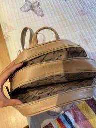 Mochila/ bolsa de couro