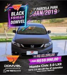 Honda Civic 2.0 LXR Aut - 2015