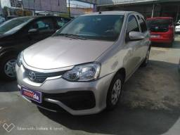 TOYOTA  ETIOS 1.3 X 16V FLEX 4P MANUAL 2017 - 2018