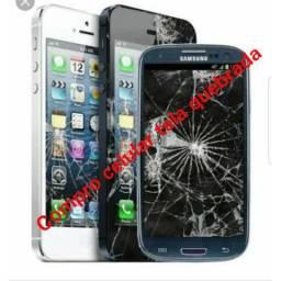 Compro celular tela quebrada
