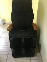 Poltrona de massagem com controle