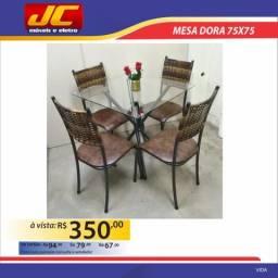 Mesa Dora 75x75 . Montagem gratis