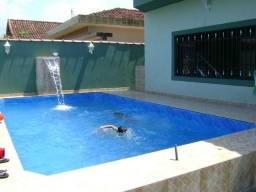 Praia Grande 450 $ Casa c/ piscina, 4 quartos, Net e Wifi 30mb