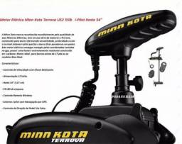 Motor Eletrico De Pesca Minn Kota Terrova 55lb 12v I-pilot