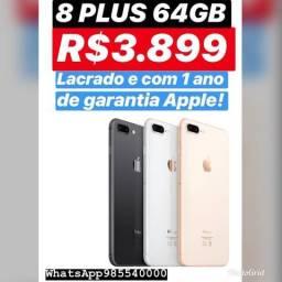 Iphone 8 plus 64gb!! r$3.899
