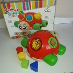 Brinquedo educativo joaninha otimo estado