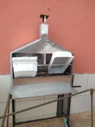 Venda de churrasqueira de inox