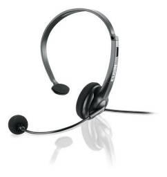 Headphone Para Telefone Rj F02-1nsrj Telemarketing Calcenter